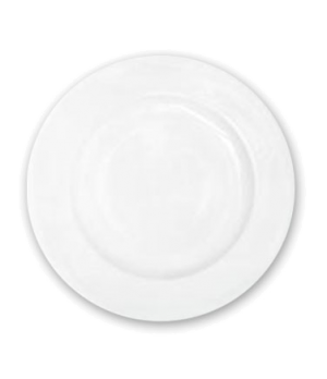"Plate, 6-3/4"" (17 cm), round, wide rim, scratch resistant, oven & microwave safe"