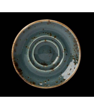 """Saucer, 4-5/8"""" dia., round, double well, freezer/microwave/dishwasher safe, life"""