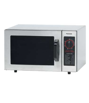 Commercial Microwave Oven, 1000 Watts, compact, 1 power level, mechanical contro