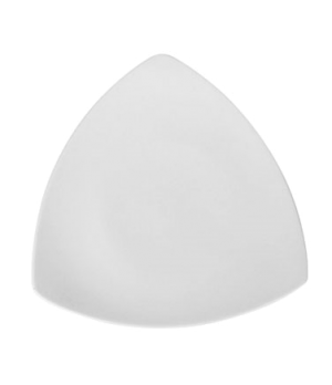 "Plate, 7-1/2"" (19 cm), triangular, coupe, rolled edge, scratch resistant, oven &"