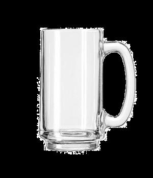"""Mug, 12-1/2 oz., handled, (H 5-1/2""""; T 2-7/8""""; B 2-3/8""""; D 4-1/2"""")"""