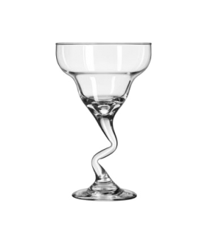 "Margarita Glass, 12 oz., Z-Stem (H 7""; T 4-1/2""; B 2-7/8""; D 4-1/2"")"