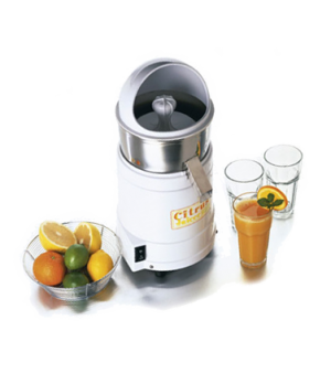 Juicer, electric, citrus reamer, polycarbonate motor housing, stainless steel ju