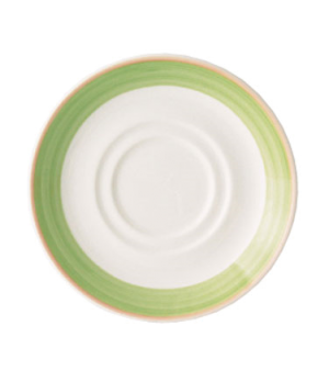 "Saucer, 6"" (15 cm), double well, scratch resistant, oven & microwave safe, dishw"