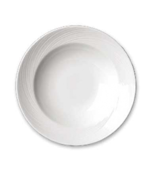 "Soup Plate, 12 oz., 9-1/2"" dia., round, rimmed, Distinction, Spyro (USA stock it"