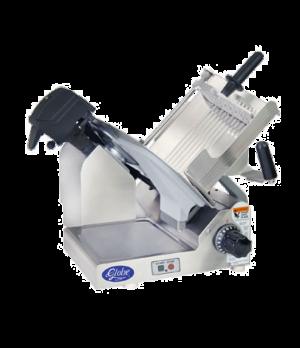 """Globe Premium Protech Slicer, manual, 13"""" diameter hardened steel alloy knife bl"""