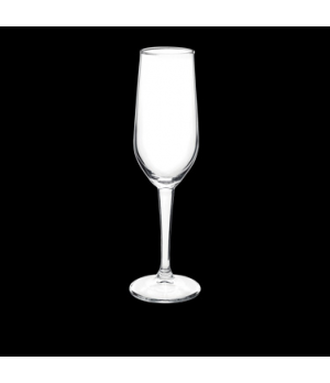 Champagne Glass, 7-1/4 oz., laser cut, non-lead, crystal, Bormioli, Riserva (USA