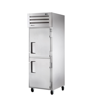 Freezer, Reach-in, -10°F, one-section, stainless steel front, aluminum sides, (2