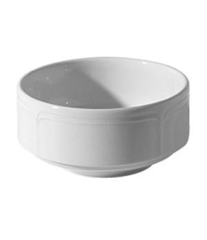 Soup Bowl, 10 oz. (0.28 liter), stacking, U/H, round, scratch resistant, oven &