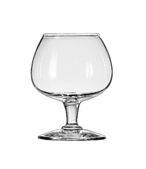 "Brandy Glass, 6 oz., Safedge® Rim guarantee, CITATION, (H 3-3/4""; T 2""; B 2-3/8"""