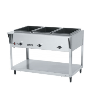 """ServeWell® SL-Hot Food Table, (3) well, 46""""W x 29-1/2""""D x 34""""H, individually con"""
