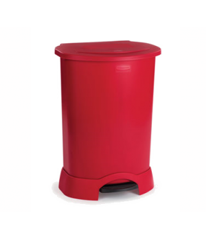 """Step-On Container, 30 gallon, 22-3/4"""" x 20-3/8""""W x 34-1/4""""H, hands free, heavy-d"""