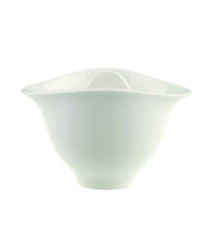 Sugar Bowl, 5-1/2 oz., with cover, premium porcelain, Dune