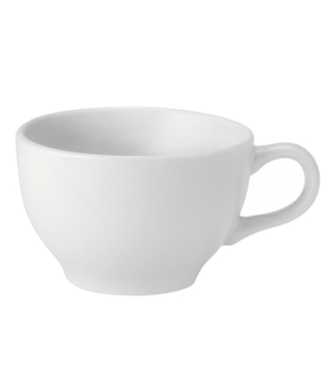 Cappuccino Cup, 8 oz. (237ml), microwave & dishwasher safe, Pure White