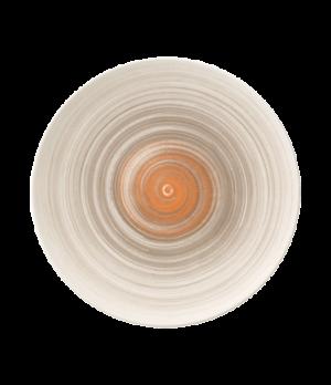 "Plate, 11-3/8"" dia., round, flat, coupe, premium porcelain, Amarah Taupe"