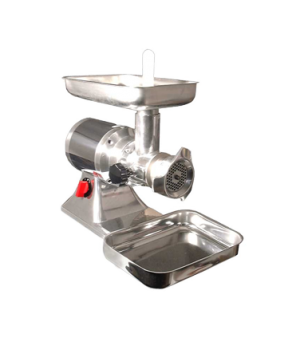 (11053) Meat Grinder, electric, #22 head, polished aluminum body, stainless stee