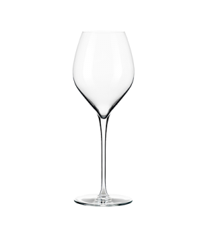 "Wine Glass, 13 oz., seam-free, stem, flat foot, ClearFire™ glass, Rivere, (H 9"";"