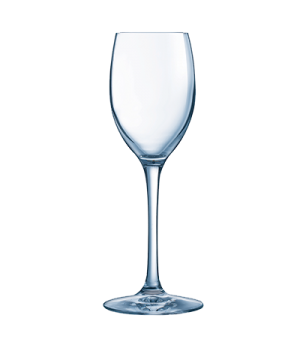 "Flute Glass, 6 1/2 oz., glass, Kwarx®, Chef & Sommelier, Grand Cepages (H 8""  T"