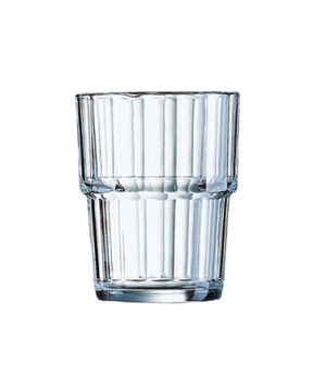 Old Fashioned Glass, 8-1/2 oz., stackable, fully tempered, glass, Arcoroc, Norve