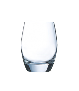 "Rocks Glass, 10 oz., glass, dishwasher safe, Arcoroc, Malea, (H 4-1/8""; T 2-1/2"""