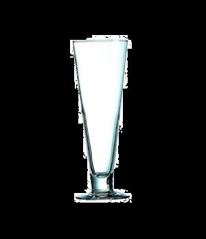 "Pilsner Glass, 14 oz., glass, Arcoroc, Classic (H 9""; T 3-1/8""; B 3-1/4""; M 3-1/"