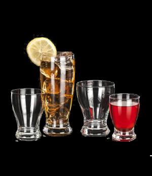 Juice Glass, 5 oz., heat treated, heavy base, stemless, Safedge® Rim Lifetime Gu