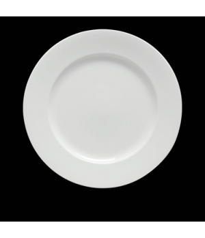 "Plate, 7-1/2"" dia., round, rolled edge, bone china, Rene Ozorio, Paris Hotel (US"