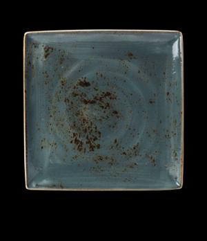 "Platter, 10-5/8"", square, narrow rim, freezer/microwave/dishwasher safe, lifetim"