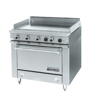 "36E Series Heavy Duty Range, electric, 36"" fry top section with thermostats, sta"
