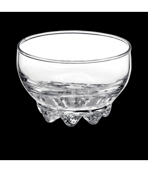 "Snack Bowl, 8 oz., 3-3/4"" x 2-1/4"", stackable, glass, Bormioli, Galassia (USA st"