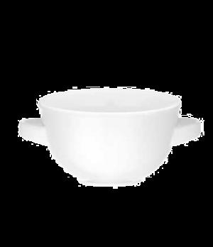 Soup Cup, 9-1/4 oz., premium porcelain, Corpo White