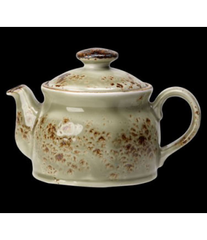 Teapot Club, 15 oz., with lid, freezer/microwave/dishwasher safe, lifetime edge
