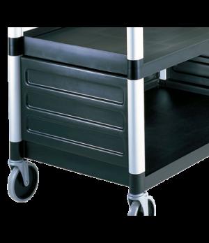"Single Shelf Panel Set, for KD utility cart ONLY, 31-5/8"" x 17-3/4"" x 11-3/4"", b"