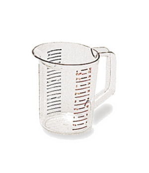 Bouncer® Measuring Cup, 1 qt., -40°F/-40°C to 212° F/100°C temp. range, measurem