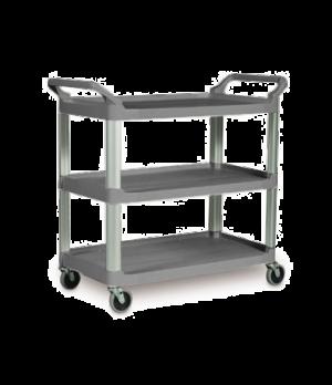 "Xtra™ Utility Cart, three shelves, 20""W x 40-5/8""D x 37-13/16""H, 100 lb. capacit"
