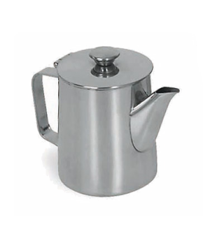 Contemporary Pot, 14 oz., 18/8 stainless steel