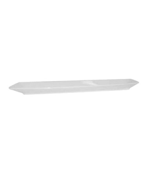 "Soho Platter, 17-3/4"" x 3-1/2"" (45 cm x 9 cm), rectangular, coupe, scratch resis"