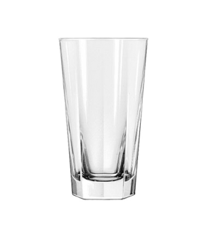 "Cooler Glass, 15-1/4 oz., DuraTuff®, INVERNESS, (H 6-1/8""; T 3-1/2""; B 2-1/2""; D"