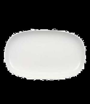 "Platter, 16-1/2"" x 10"", oval, premium porcelain, Urban Nature"