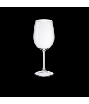 Water Glass, 12-1/4 oz., pulled stem, tempered, Bormioli, Sara (USA stock item)