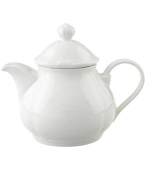 Teapot #5, 13 oz., with lid, premium porcelain, La Scala