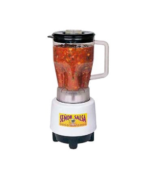 Senor Salsa® Food Blender, 1/2 gallon, removable polycarbonate container, one-s