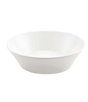 "(0108) Fusion Platter, 15-1/4"" (38.7 cm), oval, large, coupe, bone china, microw"