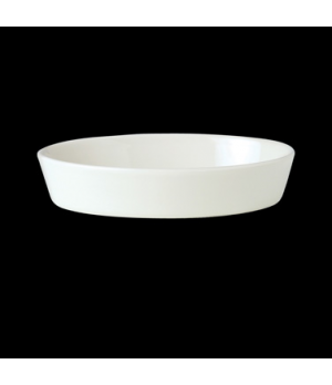 "Sole Dish, 19 oz., 8-1/2"" x 5-1/2"", oval, vitrified china, Performance, Simplici"