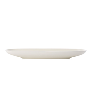 "Fruit Bowl, 21-1/2""L x 6-1/5""W, oblong, white, premium porcelain, Artesano"