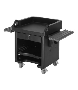 "Versa Cash Register Cart, 52-3/4""L x 32-1/4""W x 43'H, lockable center drawer, ad"