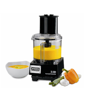 "Food Processor, 3.5 qt., vertical chute feed design, LiquiLockâ""¢ Seal System, h"