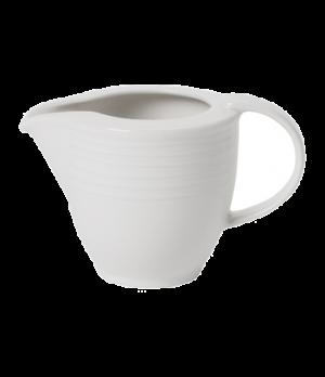 Creamer #6, 3-1/2 oz.,  premium porcelain, Sedona Fuction