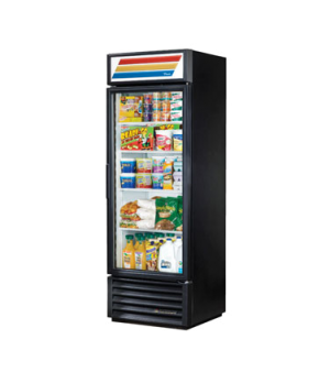 Refrigerated Merchandiser, one-section, (4) shelves, laminated vinyl exterior, w