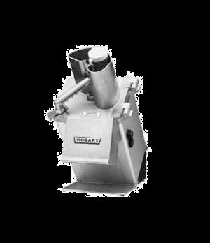 Food Processor, angled continuous feed design, half-size hopper, 16 lb per/min.